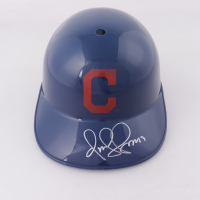 Omar Vizquel Signed Indians Full-Size Batting Helmet (Schwartz Sports COA) at PristineAuction.com