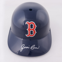 Jim Rice Signed Red Sox Full-Size Batting Helmet (Schwartz Sports COA) at PristineAuction.com