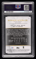 Ronald Acuna Jr. 2018 Topps Gold Label Class 1 #99 RC (PSA 10) at PristineAuction.com