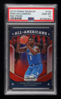 Zion Williamson 2019-20 Panini Prizm Draft Picks Prizms Red #100 AA (PSA 10) at PristineAuction.com