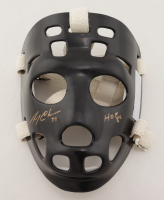 "Gerry Cheevers Signed Full-Size Throwback Hockey Mask Inscribed ""HOF 85"" (Schwartz Sports COA) at PristineAuction.com"