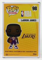"LeBron James - Lakers - NBA #98 Large 10"" Funko Pop! Vinyl Figure at PristineAuction.com"