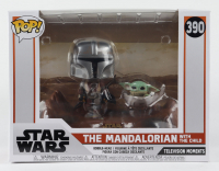 """The Mandalorian with The Child - """"The Mandalorian"""" - Star Wars Television Moments #390 Funko Pop! Vinyl Bobble-Head Figure at PristineAuction.com"""