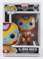 El Heroe Invicto - Lucha Iron Man - Marvel: Lucha Libre Edition #709 Funko Pop! Vinyl Bobble-Head Figure at PristineAuction.com