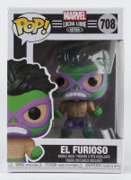 El Furioso - Lucha Hulk - Marvel: Lucha Libre Edition #708 Funko Pop! Vinyl Bobble-Head Figure at PristineAuction.com