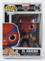 El Aracno - Lucha Spider-Man - Marvel: Lucha Libre Edition #706 Funko Pop! Vinyl Bobble-Head Figure at PristineAuction.com