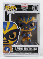 El Animal Indestructible - Lucha Wolverine - Marvel: Lucha Libre Edition #711 Funko Pop! Vinyl Bobble-Head Figure at PristineAuction.com