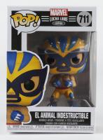 El Animal Indestructible - Lucha Wolverine - Marvel: Lucha Libre Edition #711 Funko Pop! Vinyl Bobble-Head Figure at PristineAuction.com