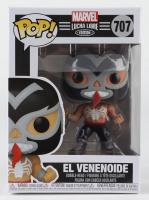 El Venenoide - Lucha Venom - Marvel: Lucha Libre Edition #707 Funko Pop! Vinyl Bobble-Head Figure at PristineAuction.com