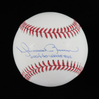 "Mariano Rivera Signed OML Baseball Inscribed ""Last to Wear #42"" (JSA COA) at PristineAuction.com"