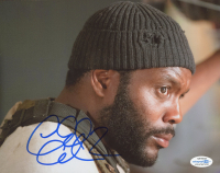 "Chad Coleman Signed ""The Walking Dead"" 8x10 Photo (AutographCOA COA) at PristineAuction.com"