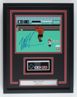 "Mike Tyson Signed ""Punch-Out!!"" 15.25x19.25 Custom Framed Photo Display with Replica Controller (JSA COA & Fiterman Sports Hologram) at PristineAuction.com"