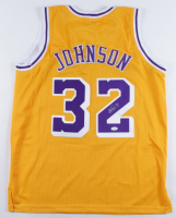 Magic Johnson Signed Jersey (JSA COA) at PristineAuction.com