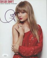 Taylor Swift Signed 8x10 Photo (JSA COA) at PristineAuction.com