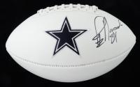 Jay Novacek Signed Cowboys Logo Football (JSA COA) (See Description) at PristineAuction.com