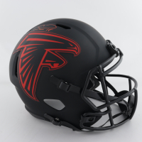 Calvin Ridley Signed Falcons Full-Size Eclipse Alternate Speed Helmet (Beckett COA) at PristineAuction.com