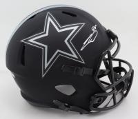 CeeDee Lamb Signed Cowboys Full-Size Eclipse Alternate Speed Helmet (Fanatics Hologram) (See Description) at PristineAuction.com