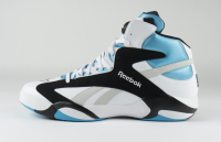 """Shaquille O'Neal Signed Size 22 Reebok """"The Pump"""" Game Model Shoe (Fanatics COA) at PristineAuction.com"""