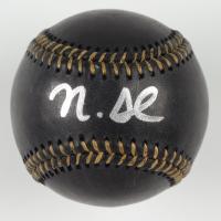 Nick Senzel Signed OML Black Leather Baseball (JSA COA) at PristineAuction.com