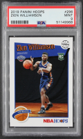 Zion Williamson 2019-20 Hoops #296 RC (PSA 9) at PristineAuction.com