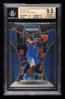 Zion Williamson 2019-20 Panini Prizm Draft Picks Prizms Blue #64 (BGS 9.5) at PristineAuction.com