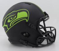 "Steve Largent Signed Seahawks Full-Size Eclipse Alternate Speed Helmet Inscribed ""HOF '95"" (Schwartz COA) (See Description) at PristineAuction.com"