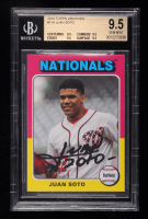 Juan Soto 2019 Topps Archives #119 (BGS 9.5) at PristineAuction.com