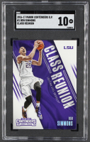 Ben Simmons 2016-17 Panini Contenders Draft Picks Class Reunion #1 RC (SGC 10) at PristineAuction.com