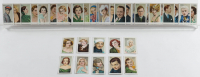 "1934 Gallaher ""Champions of Stage & Screen"" Complete Set of (48) Cigarette Cards with #46 Clark Gable, #48 Lillian Harvey, #7 Joan Crawford, #17 Jean Harlow, #4 Bing Crosby, #47 Marlene Dietrich, #14 Katharine Hapburn at PristineAuction.com"
