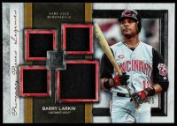 Barry Larkin 2020 Topps Museum Collection Primary Pieces Quad Relics Legends #SPQLBL #16 / 25 at PristineAuction.com