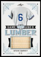 Steve Garvey 2021 Leaf Lumber Game Used Lumber Platinum #GUL95 #4/6 at PristineAuction.com