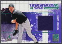 Randy Johnson / Curt Schilling 2003 Donruss Elite Throwback Threads #57 #094/125 at PristineAuction.com