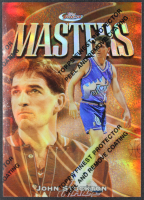 John Stockton 1997-98 Finest Refractors #33 at PristineAuction.com