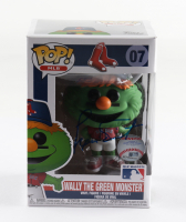 """Luis Tiant Signed """"Wally The Green Monster"""" #07 Funko Pop! Vinyl Figure (Beckett COA) at PristineAuction.com"""