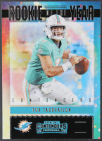 Tua Tagovailoa 2020 Panini Contenders Rookie of the Year Contenders #5 RC at PristineAuction.com