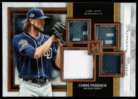 Chris Paddack 2020 Topps Museum Collection Primary Pieces Quad Relics Copper #SPQRCPA #69/75 at PristineAuction.com