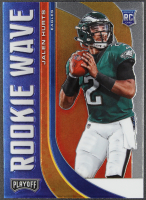 Jalen Hurts 2020 Playoff Rookie Wave #22 RC at PristineAuction.com