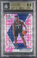 Zion Williamson 2019-20 Panini Mosaic #209 Mosaic Pink Camo RC (BGS 9.5) at PristineAuction.com