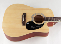 Merle Haggard Signed Full-Size Acoustic Guitar (Beckett COA) at PristineAuction.com