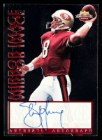 Steve Young  Signed LE 1997 Score Board Playbook Mirror Image #4 (Beckett COA) at PristineAuction.com