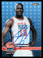 Shaquille O'Neal Signed LE 1994 SkyBox USA #72 Magic On (Beckett COA) at PristineAuction.com