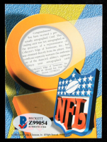 Peyton Manning 1998 Collector's Edge First Place Rookie Ink #23A Blue (Beckett COA) at PristineAuction.com