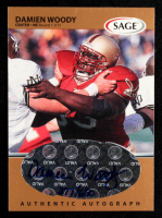 Damien Woody 1999 SAGE Autographs Bronze #A50 (Beckett COA) at PristineAuction.com