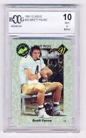 Brett Favre 1991 Classic #30 (BCCG 10) at PristineAuction.com