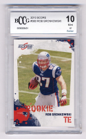 Rob Gronkowski 2010 Score #383 RC (BCCG 10) at PristineAuction.com