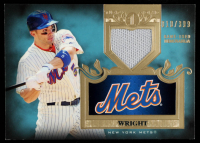 David Wright 2011 Topps Tier One Top Shelf Relics #TSR31 #010/399 at PristineAuction.com