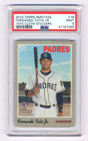 Fernando Tatis Jr. 2019 Topps Heritage #517 RC (PSA 9) at PristineAuction.com