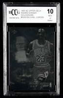 Michael Jordan 1991-92 Upper Deck Award Winner Holograms #AW4 / MVP(BCCG 10) at PristineAuction.com