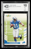 Calvin Johnson 2007 Score #351 (BCCG 10) at PristineAuction.com