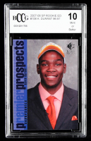 Kevin Durant 2007-08 SP Rookie Edition #106 96-97 (BCCG 10) at PristineAuction.com